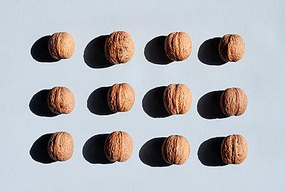 Walnuts still life - p1190m2015049 by Sarah Eick
