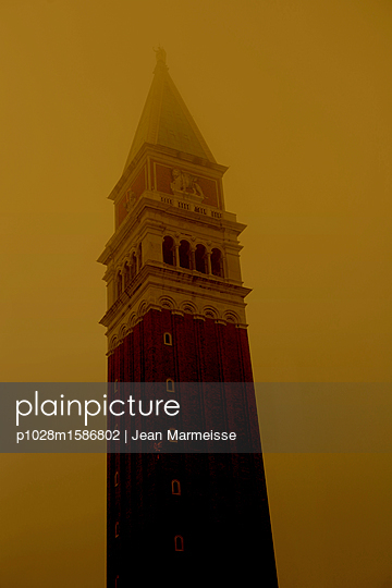 Campanile di San Marco, Venice - p1028m1586802 by Jean Marmeisse