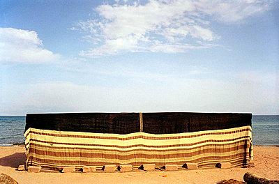 traditional beduin tent (nuweiba, sinaï, egypt)   - p5673224 by Scarlett Coten