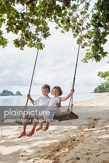 plainpicture | Photo library for authentic images - plainpicture p300m1550014 - Thailand, Ko Yao Noi, happy... - plainpicture/Westend61/Roger Richter