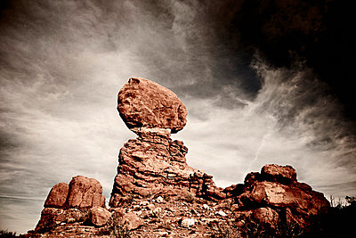 Rock Formation, Arches National Park, Utah, USA - p6945039 by Noll Images