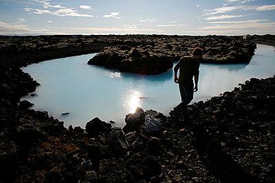 reykjanes peninsula - p1028m769973 von Jean Marmeisse