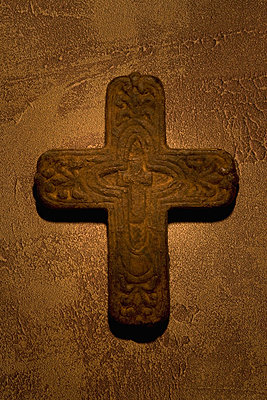 Ancient cross - p4422864f by Design Pics