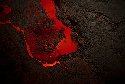 Simulation of lava - p212m901152 by Edith M. Balk