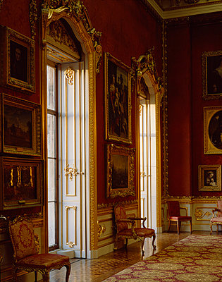 Apsley House. View of two of the windows in the Waterloo Gallery. - p8551679 by Nigel Corrie