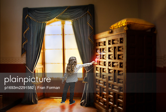 Magic Drawer - p1693m2291582 by Fran Forman