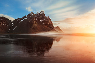 Vestrahorn Mountain Range - p1280m1223119 by Dave Wall