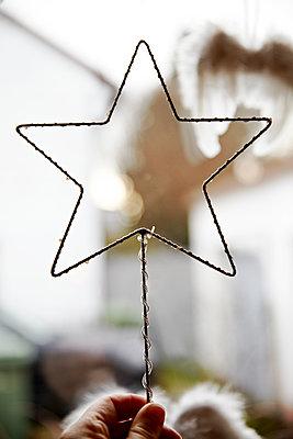 Christmas star - p1146m1109451 by Stephanie Uhlenbrock