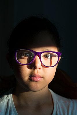 Girl in sunlight - p1170m2110415 by Bjanka Kadic