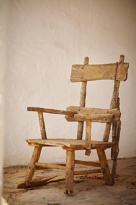 Old wooden chair - p1010m2284210 by timokerber