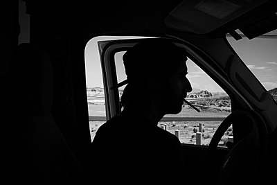 Car driver - p1411m2057750 by Florent Drillon