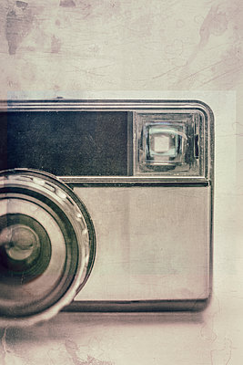 Vintage film camera - p1280m2089699 by Dave Wall