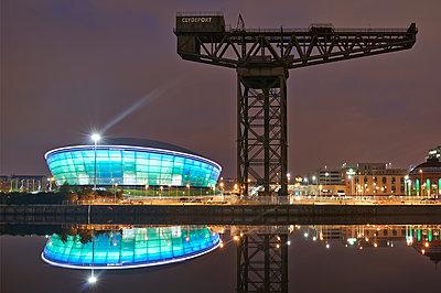 Kran, Clydeport, Glasgow - p587m1091796 von Spitta + Hellwig