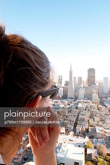 Ausblick auf San Francisco - p795m1159955 von Janklein