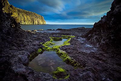Spain, Tenerife, Landscape at the ocean - p300m1120779f by Simona Pillola