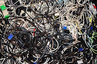 Alte Kabel - p567m1530412 von Gaëlle Magder