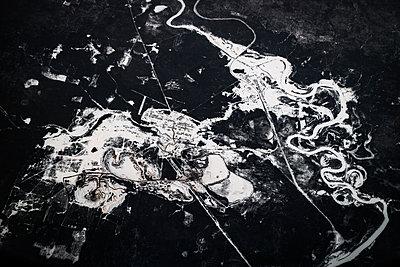 Flusslandschaft - p1441m2028221 von Benjamin Zibner