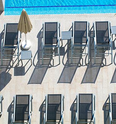 Sun loungers  - p1082m1589778 by Daniel Allan
