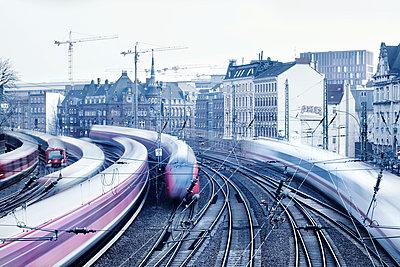 Schienen - p1222m1538265 von Jérome Gerull