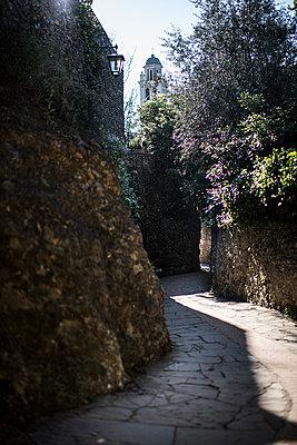 Street of portofino - p1007m1424568 by Tilby Vattard