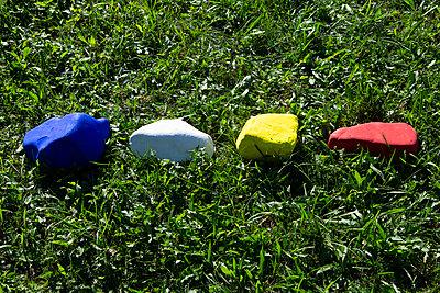 Colourful stones - p1017m2126308 by Roberto Manzotti
