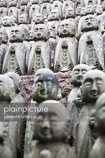 Stein Mönche in Kamakura - p958m1573139 von KL23