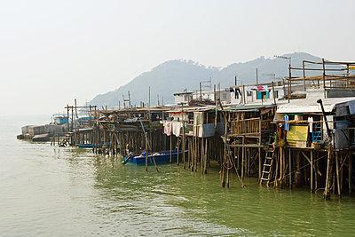 Tai o village lantau island - p9246168f by Image Source