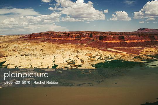 Monumental rock formation - p988m2015070 by Rachel Rebibo