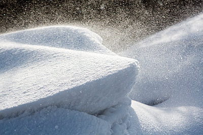 Snow drifts - p1057m1586859 by Stephen Shepherd