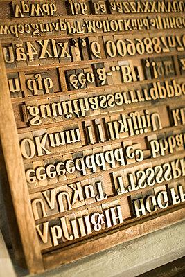 Traditioneller Schriftsatz - p1222m1161726 von Jérome Gerull