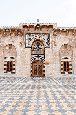 Umayyaden-Moschee in Aleppo, Syrien - p1493m2063996 von Alexander Mertsch