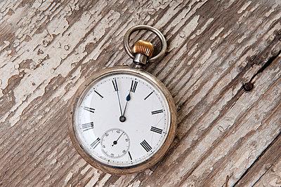 Uhr, Taschenuhr - p9790404 von Weber Decker