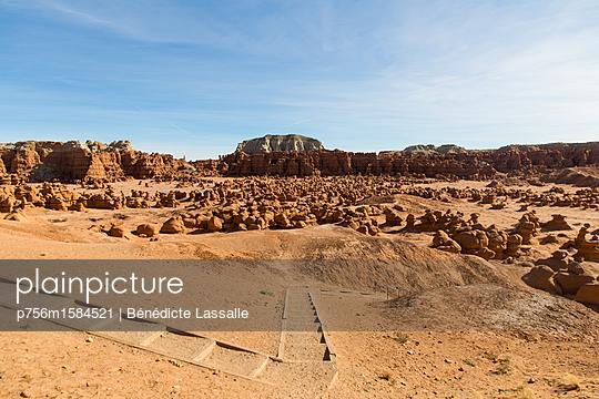 Landschaft in Utah - p756m1584521 von Bénédicte Lassalle
