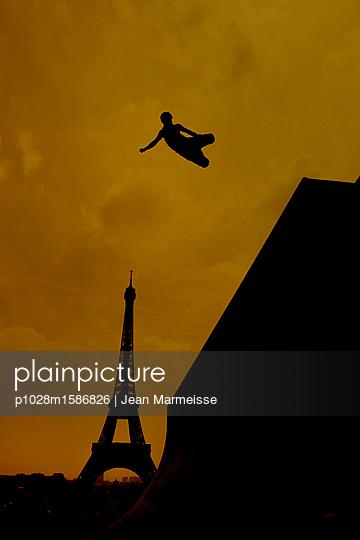 Inline skating - p1028m1586826 von Jean Marmeisse