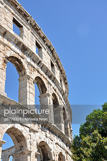 Ruins site in Pula - p5770328 by Mihaela Ninic
