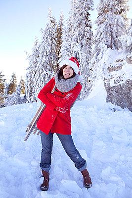 Weihnachtsfrau - p4541774 von Lubitz + Dorner