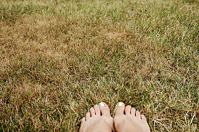 Feet in the grass - p9380041 by Christina Holmes