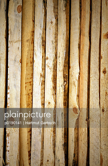 Holzbretter - p0190141 von Hartmut Gerbsch
