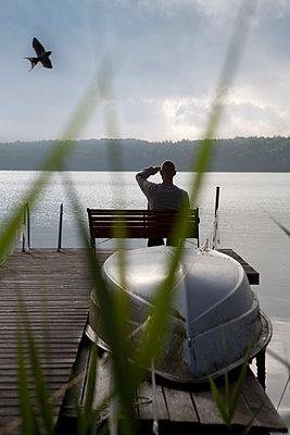 Bathing lake - p817m1048430 by Daniel K Schweitzer
