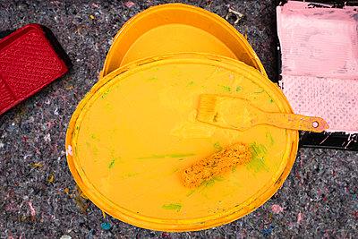 Künster bei der Arbeit - p1222m2228592 von Jérome Gerull