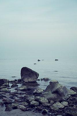 Nebel am Meer - p992m1016128 von Carmen Spitznagel