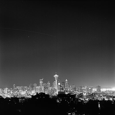 View of Seattle USA - p312m1076664f by Peter Rutherhagen