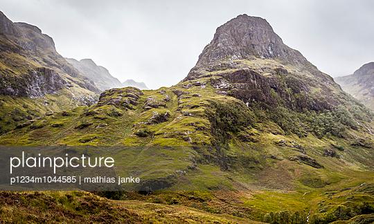 Berglandschaft - p1234m1044585 von mathias janke