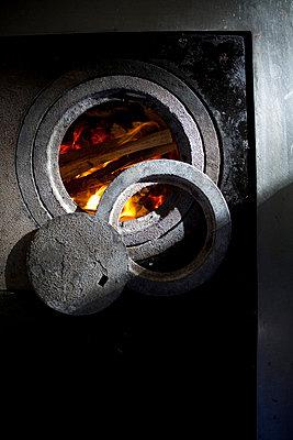 Coal-burning stove - p0750368 by Lukasz Chrobok