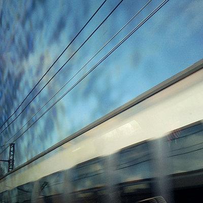 Zugfahren - p9112609 von Thao