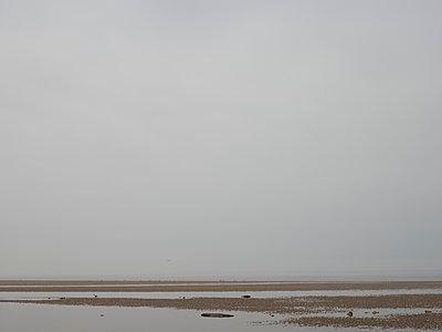 Norfolk Beach, Holkham, East Anglia - p591m1091428 von Celine Marchbank