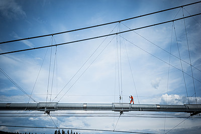 Maintenance work on a pipeline - p741m2168709 by Christof Mattes