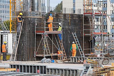 Construction site - p1292m2151575 by Niels Schubert