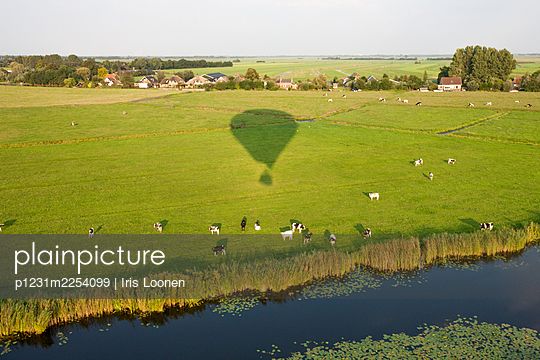 View from an air balloon - p1231m2254099 by Iris Loonen