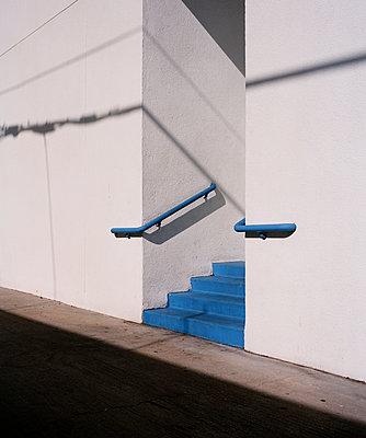 Blue Steps - p1431m2247661 by Daniel R. Lopez